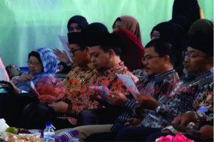 Dua orang politisi hadir dalam silaturrahim warga Muhammadiyah. Hadi Mulyadi dan Darlis Pattalongi. (foto:Gladis)
