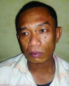 Tersangka Rahman Hadi