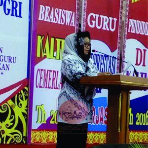 Hj.Dayang Budiarti. (foto:My)