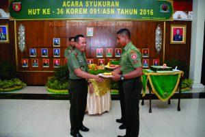 Prajurit termuda Prada Doni Hermawan Yonif 611/Awang Long