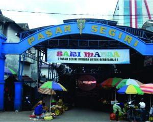 Pasar Segiri Samarinda-Gladis