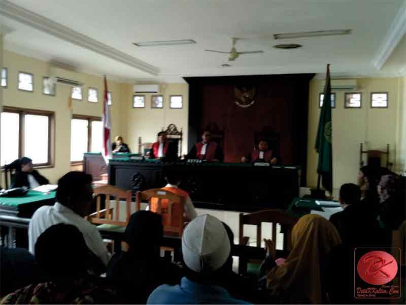 Divonis Separuh dari Tuntutan JPU, PH Terdakwa Mariadi Pikir-Pikir