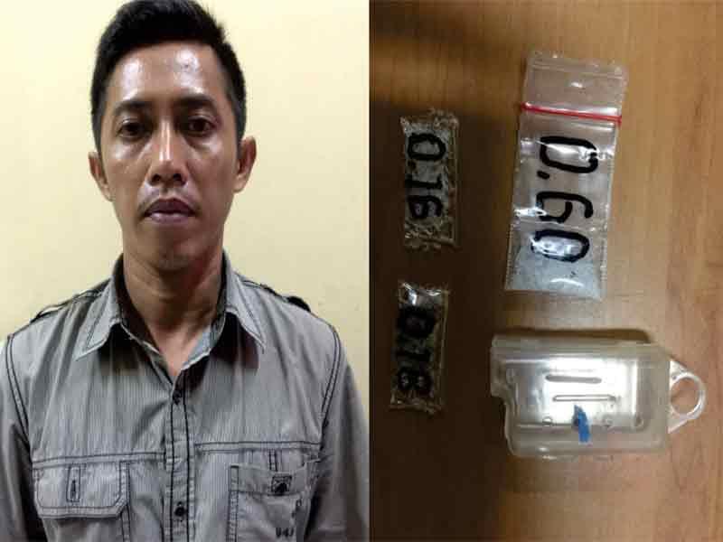 Masih Jalani Hukuman, Napi Narkoba Kembali Ditangkap Kuasai Sabu