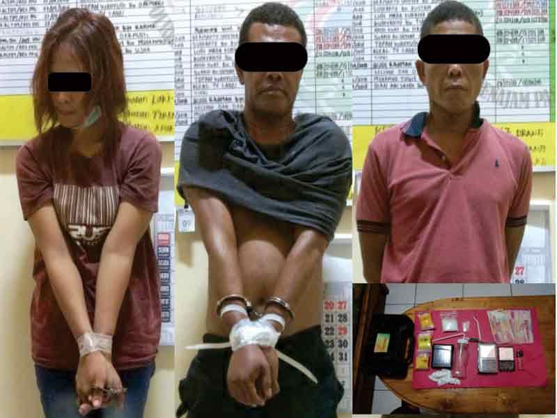 Gara-Gara Kuasai Sabu, 3 Orang Terancam Dipenjara 20 Tahun