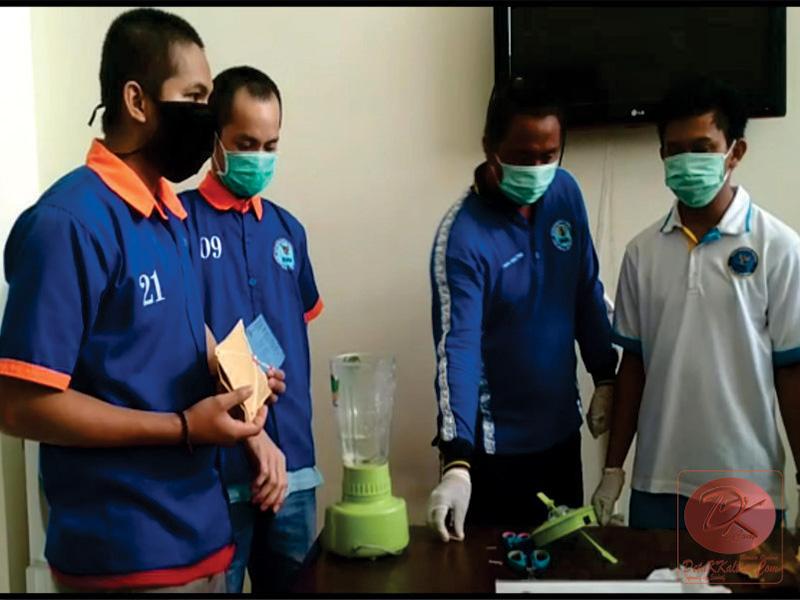 BNNP Kaltim Musnahkan Barang Bukti Sabu Disaksikan Jaksa