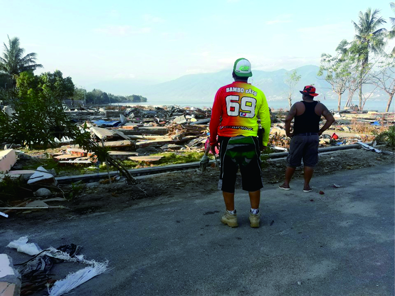 Pasca Gempa dan Tsunami Seribuan Tahanan Masih Buron, Kutim Waspada