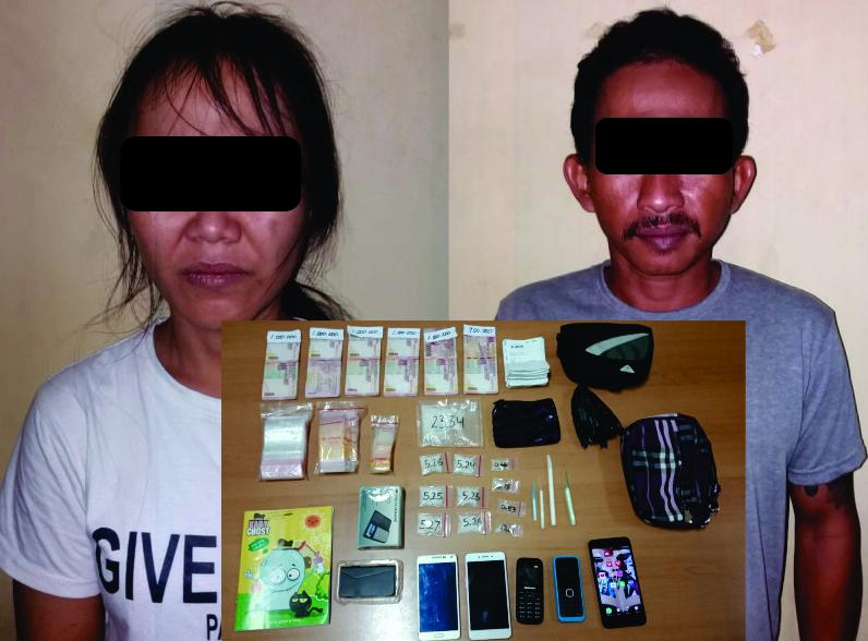 2 Orang Ditangkap di Sebuah Ruko, Polisi Sita Sabu-Sabu 50 Gram