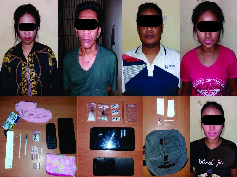 Terlibat Narkoba, 3 Wanita Muda Mendekam di Tahanan Polres