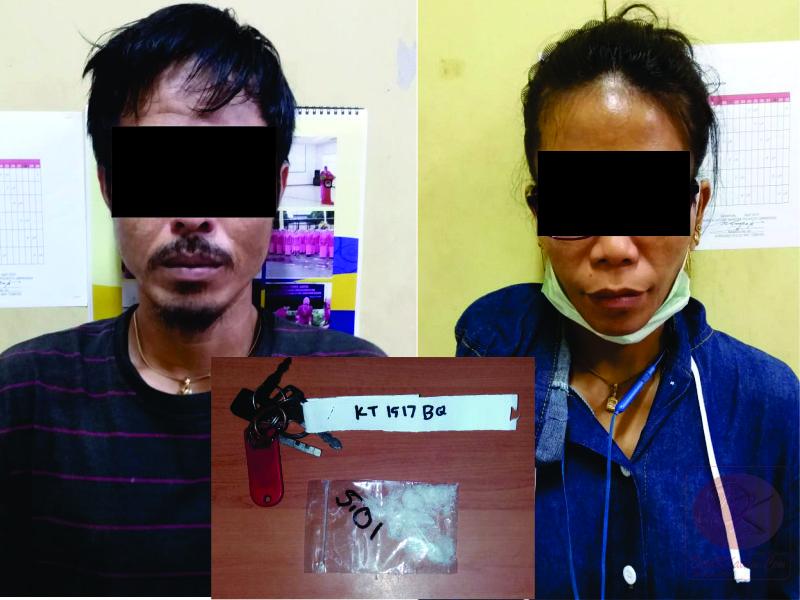 Warga Samarinda Diciduk Dalam Taksi, Sembunyikan Sabu di Lengan Baju