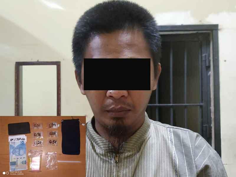 Bisnis Sabu, Warga Sungai Kapih Dibekuk Jajaran Kepolisian