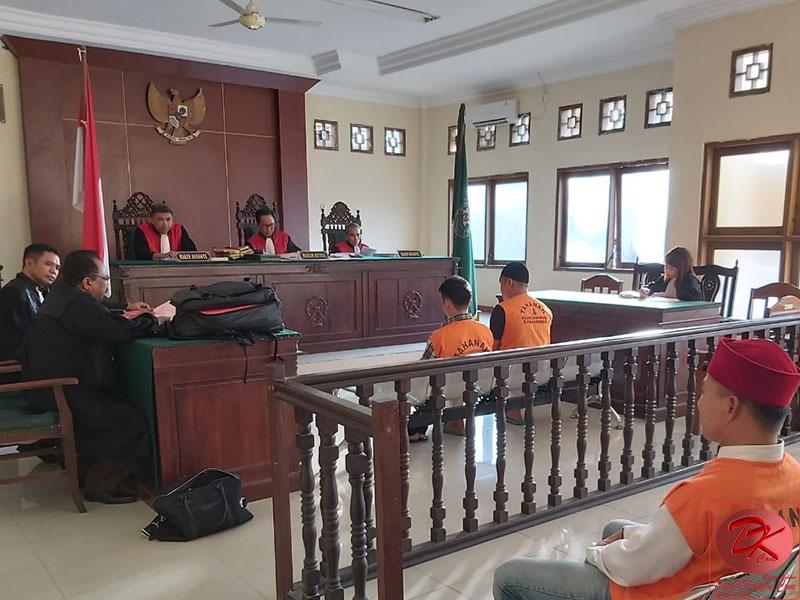 Dua Terdakwa Kasus Narkotika Dituntut Seumur Hidup