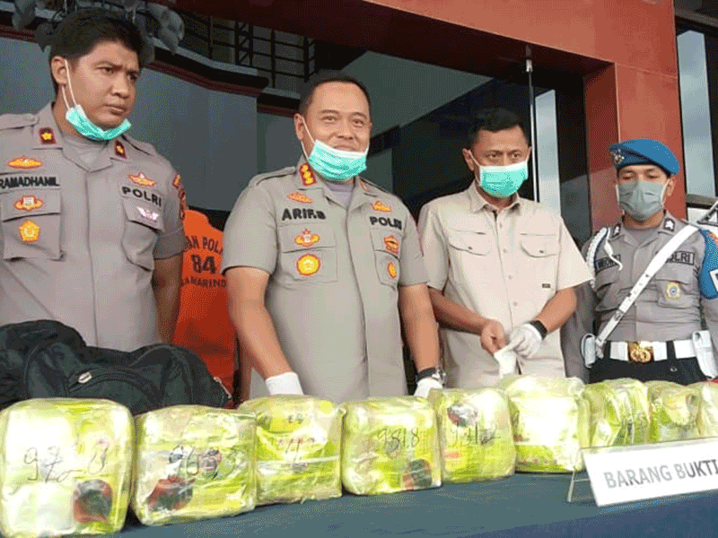 Polisi Gagalkan Penyelundupan 10 Kg Sabu dari Malaysia